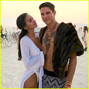 Sean Faris Marries Cherie Daly at Burning Man (Photos)
