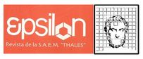 Revista EPSILON de la SAEM THALES