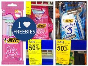 Free Bic Razors at Walgreens!