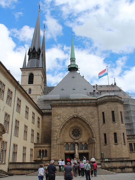 Lucembursko, katedrála Notre Dame v Lucemburku