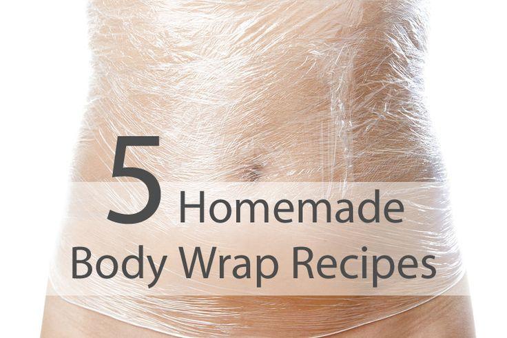 5 Homemade Body Wrap Recipes For Detoxification and Weight Loss #BodyWrap