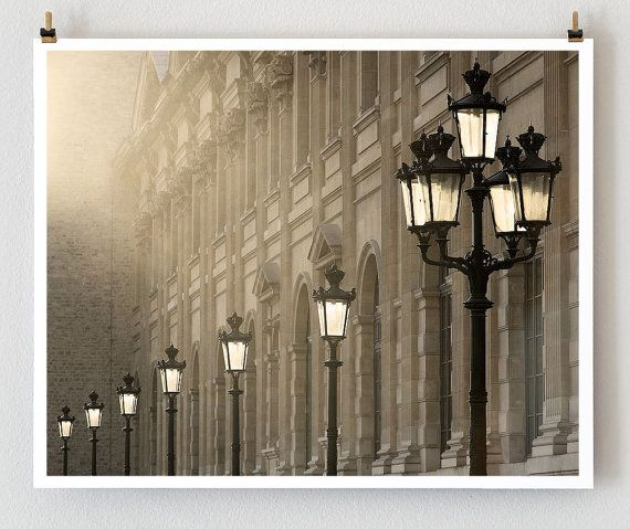 Last Light Paris French Fine Art Photograph Art by littlebrownpen.