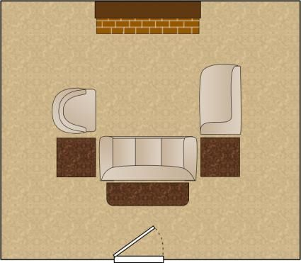 64 best images about room arrangements on pinterest for U shaped living room layout
