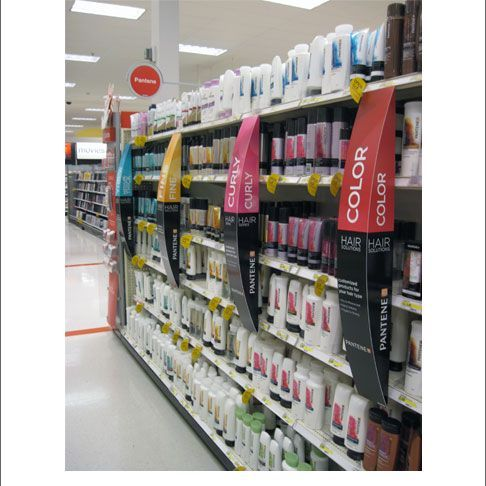 Popon   Image Gallery   Pantene Curved Aisle Violaters: