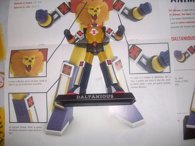 Daltanious Acton Figure Yamato robot anime robot cm.14