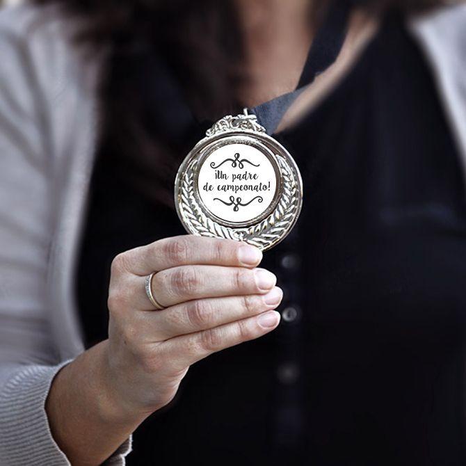 Medalla Un padre de campeonato