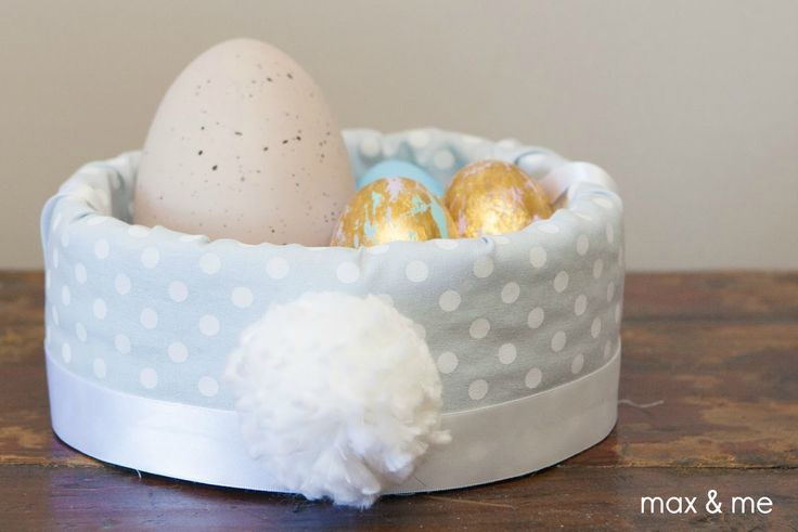 My lovely sister  and I have quite a few family traditions that we enjoy doing together, and one of them is making handmade Easter baskets a...