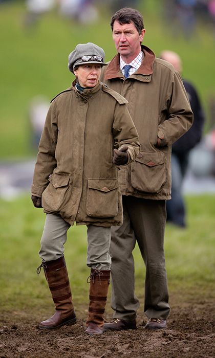 Princess Anne and Sir Timothy, who did not receive a title upon marriage but was knighted by the Queen in 2011, live quietly between their country estate Gatcombe Park and London residence at St James's Palace. While Anne has a host of royal duties, her husband does not carry out engagements alone, instead offering his wife support on select occasions.