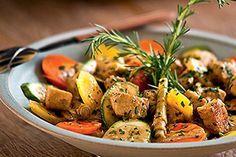 Receita de Frango com Curry, Açafrão, Leite de Coco e Legumes - Receitas Show