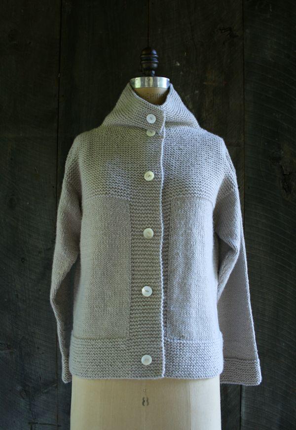Lauras Loop: The Purl Soho Cardigan Coat + Vest - Purl ...