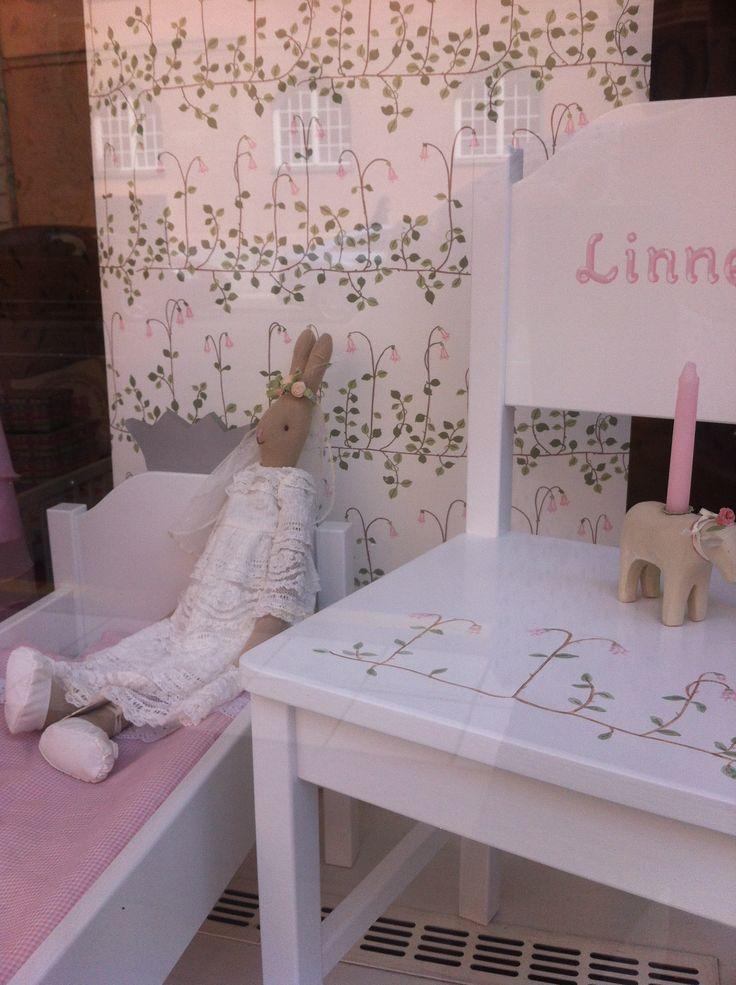 Handpainted childrens furniture.
