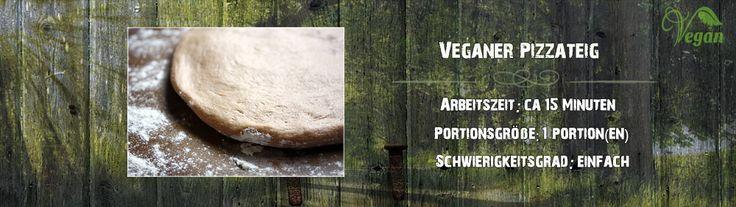 Veganer-Pizzateig