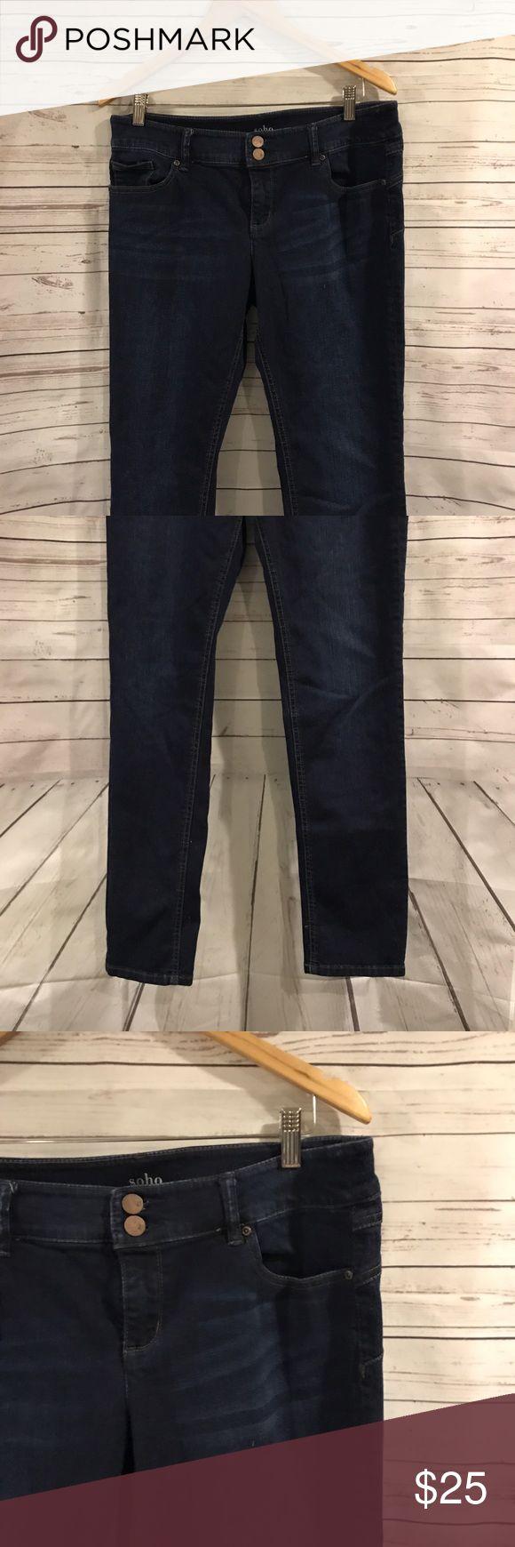 New York & Company skinny jeans Soho skinny jeans, size 12! Inseam 31. **E226 New York & Company Jeans Skinny