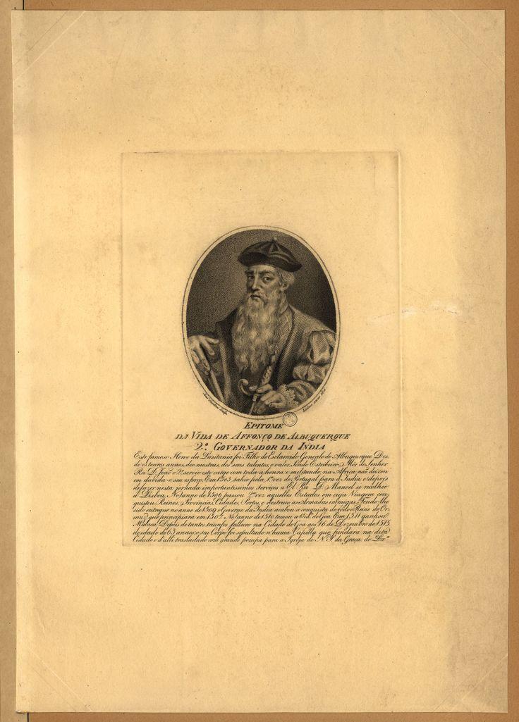 Afonso de Albuquerque, second Portuguese Governor in India (1453-1515)