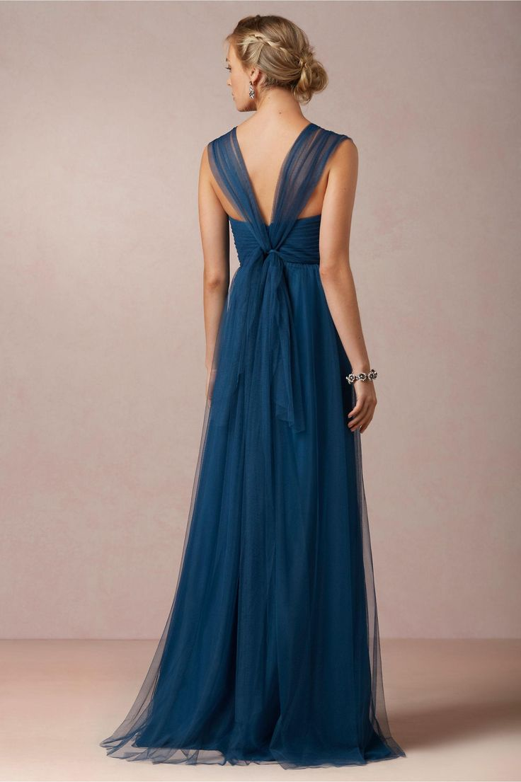 Annabelle Bridesmaid Dress in Lapis BLue by Jenny Yoo for BHLDN