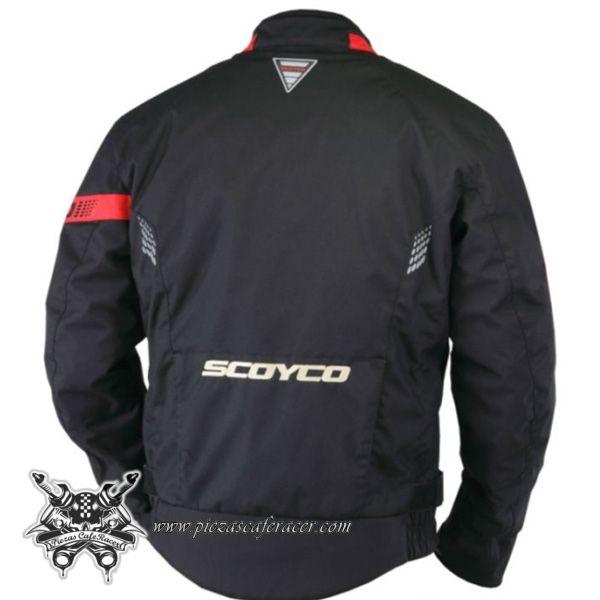 153,47€ - ENVÍO GRATIS - Chaqueta de Piloto Moto Para Travesías Largas con Fuertes Protecciones Color Negro/Blanco