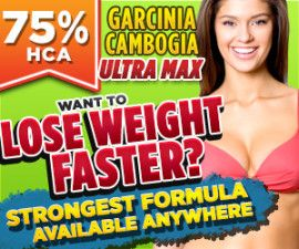 "Garcinia Cambogia Ultra Max has a definitive answer to the question ""Which Garcinia to Buy?"" thanks to its 75% HCA concentration – the highest one of all Garcinia supplements so you can lose weight faster than ever before."