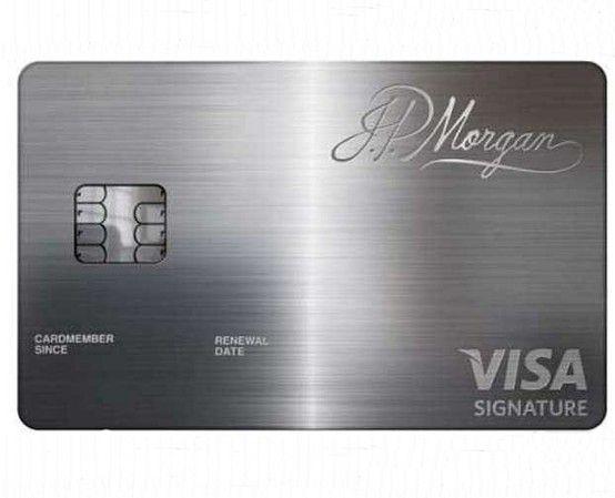 J.P. Morgan Chase Palladium Card~ Miss Millionairess