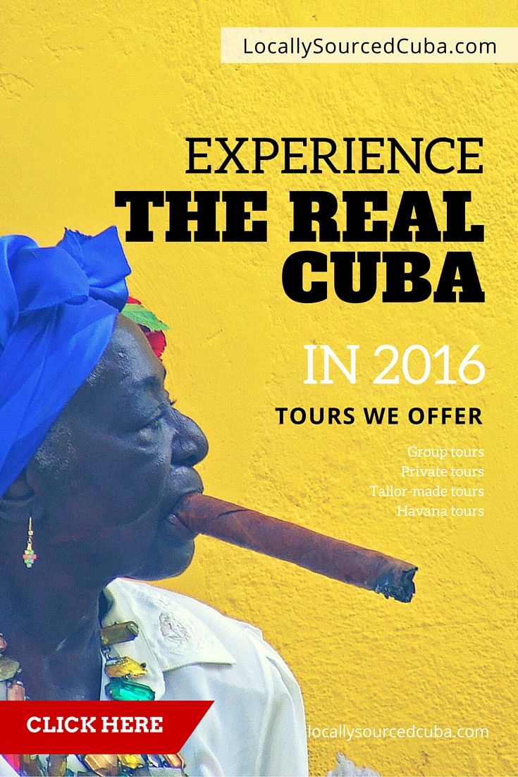 A Locally Sourced Cuba Tour is for those who want to get off the beaten track and experience the 'real' Cuba, away from the crowds. On our Cuba tours you will get the opportunity to interact with the locals, immerse yourself in Cuban culture and ultimately gain a unique appreciation for the country by having your own authentic #Cuba tour experience.