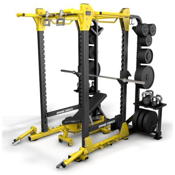 Lifefitness hammer strength hd elite power rack