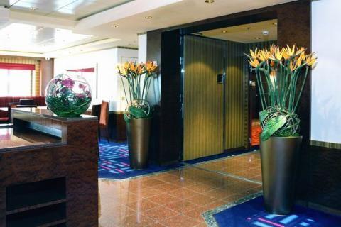 Искусственные цветы в помещении