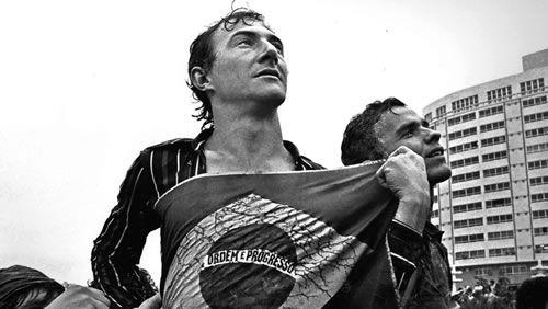 Foto de Juca Martins, produzida em 1980, no ABC paulista: trabalho de quatro gerações de fotógrafos