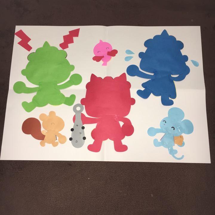 幼稚園や保育園、学校、施設、などお部屋の飾り付けにいかがでしょうか? 大きさは2枚目を参考にして下さい。A4サイズの紙です。 全て手作りです。のりの跡や色画用紙には見た目の色の違いなどがある場合があります。ご了承下さい。 ○画用紙、糊、セロテープ、油性ペンを使用しています。 ○ラミネート加工なし ○一つ一つ丁寧に作成しておりますが、素人ですので、糊跡やおれ、細かい歪みなどあるかもしれません。糊を使用しておりますが、剥がれたりするかもしれません。その際はお手数ですが再度貼り付けてください。ご理解頂ける方はご検討ください。 ○A4のクリアファイルに入れてお送り致します! ○即購入して頂いてもかまいませんが、質問などありましたらご連絡ください。 保育園 幼稚園 託児所 小児科 病院 デイサービス 施設 春 夏 秋 冬 誕生日 パーティー ハンドメイド 壁面 飾り 壁面 保育所 保育士 施設 店 鬼 節分 豆まき おに せつぶん まめまき 鬼は外 おにはそと 泣き虫鬼 怒りん坊鬼
