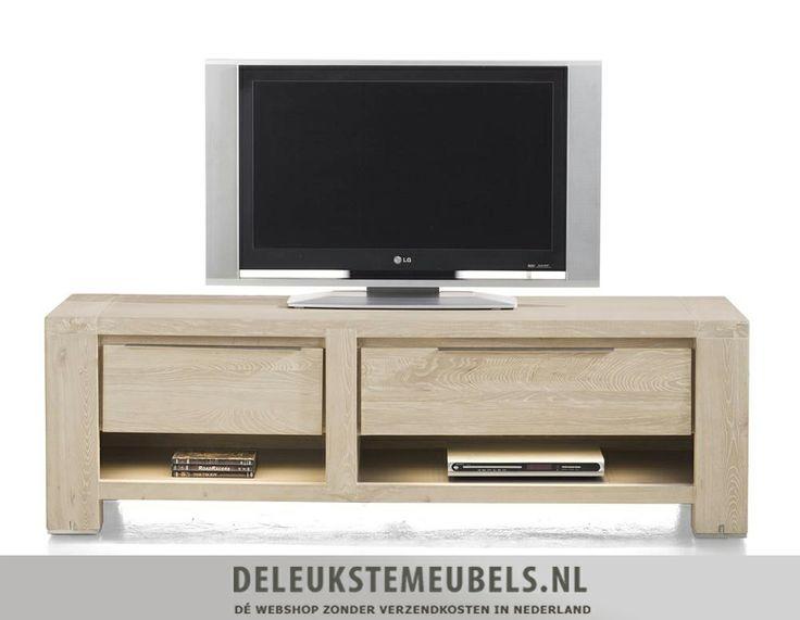 Dit tv-dressoir Buckley 150cm van het merk Henders & Hazel heeft één lade, één klep en twee niches. De onderplanken van de niches zijn mat afgelakt in een taupe tint en de lade en klep hebben een metalen greepje. De LED verlichting benadrukt de mooie vormgeving. http://www.deleukstemeubels.nl/nl/buckley-tv-dressoir-150cm/g6/p24/
