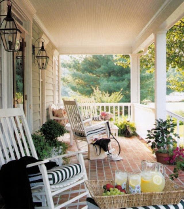 En veranda till min gungstol