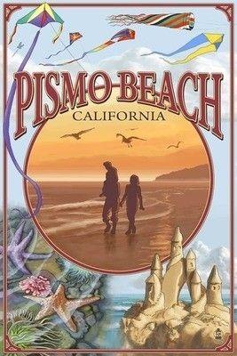Pismo Beach art print