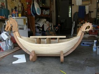 Dragon Boat Cradle   I Very Nearly Built Something Like This Myself, But We  Ended