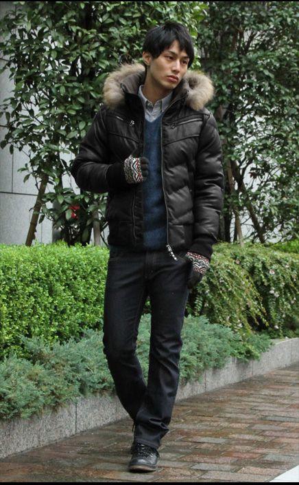 2013 ダウンジャケットの着こなし方はコチラです!!: 20代後半から30代のメンズファッション おしゃれなモテ服コーディネート