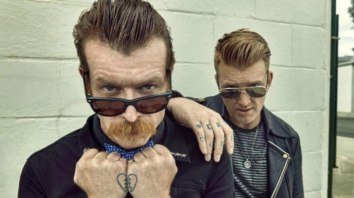 Josh Homme and Jesse Hughes aka Eagles of Death Metal stream new song.