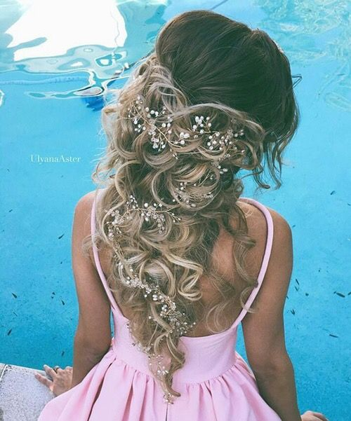 Swell 1000 Ideas About Quinceanera Hairstyles On Pinterest Quince Short Hairstyles For Black Women Fulllsitofus