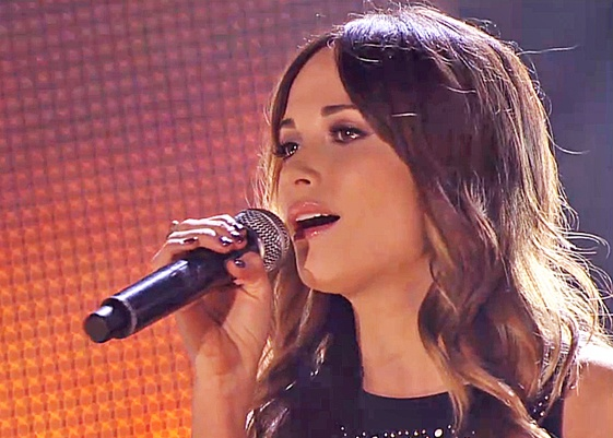 County music star on the rise Kacey Musgraves rocks a Shure SM58!