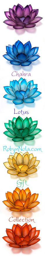 Chakra Lotus Gift Collection.....like the drawings of flowers