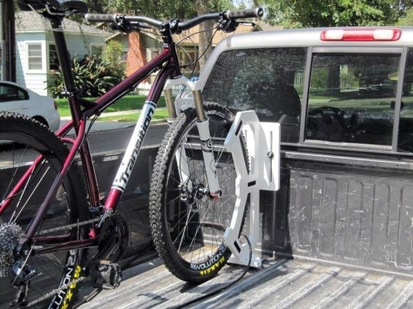 Wheel Wally Pickup Truck Bike Rack – Straps the Wheel for Secure Carry