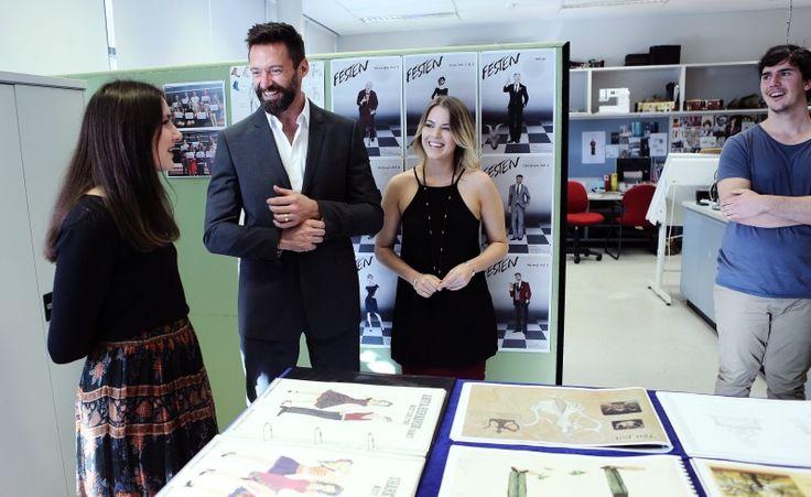 Visiting the designers at WAAPA