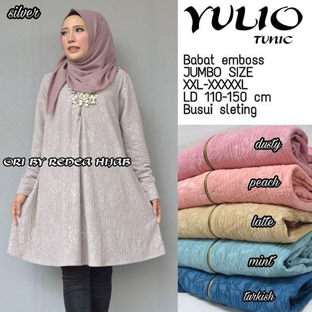 Yulio Tunic  Matt :  Babat Embos   Jumbo Size  Ld 110-150cm  Fit to XXL - XXXXXL   Busui Sleting   Good Quality  Harga : 100.000    #khimarmurah #maximurah #gamis #gamismurah #syari #muslim #muslimahfashion #jilbabgrosir #jilbab #ootd #hijab #trend #like4like #l #hijabmurah #jeans #kulot
