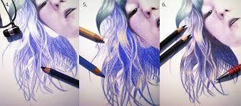 Картинки по запросу техники рисования цветными карандашами