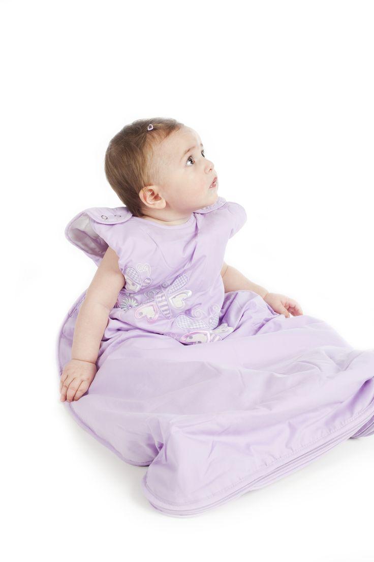 Kelebekler... Dream Bag... Doğumdan 6 yaşa kadar farklı kalınlıklarda uyku tulumları...