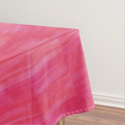 Pretty Pink Tablecloth - personalize gift idea special custom diy or cyo