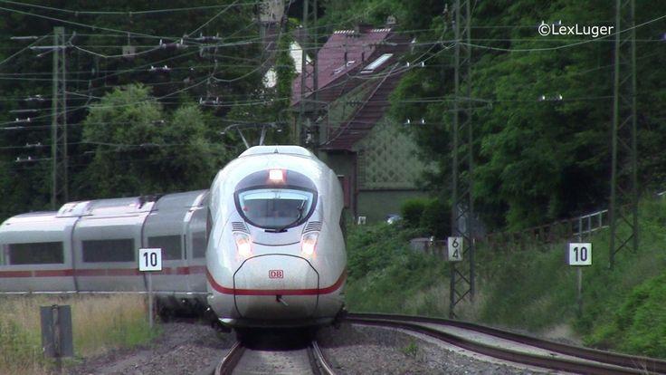 High Speed ICE Velaro D Zuege (BR407) in #Saarbruecken #Scheidt  #Saarland Suchbegriffe: IntercityExpress (ICE),  DB Fernverkehr AG, Hochgeschwindigkeitszug, BR 407, DBBaureihe 407, Velaro e320, Eurostar 320,  Viersystemfahrzeuge ,Siemens, Velaro D, Wirbelstrombremsen, #Saarbruecken, Paris, Frankreich, Deutsche Bahn, Mehrsystemzug, #Saarland, Canon Legria HFR47 #Saarbruecken #Saarland http://saar.city/?p=32089