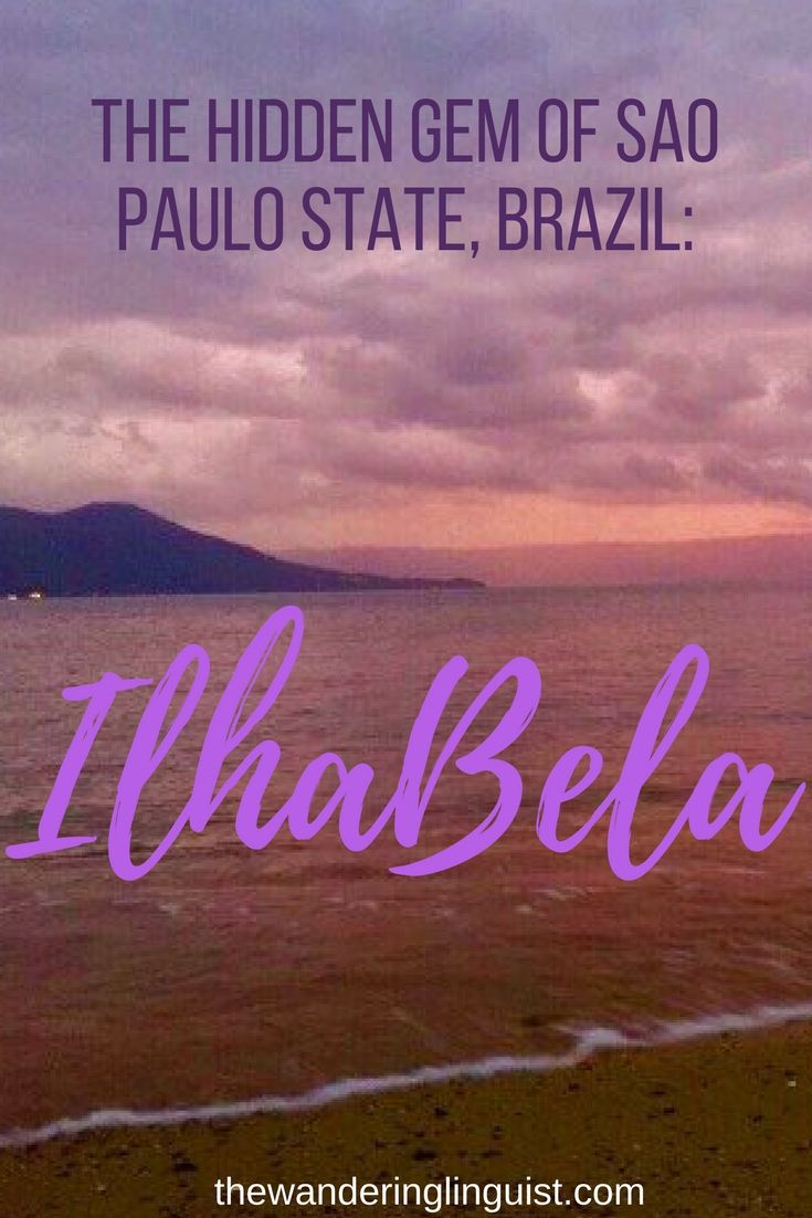 I beleive that Ilha Bela might just be Sao Paulo state's best-kept secret – and it certainly has some hidden gems of its own. It is quiet, it is clean, it is safe and it is beautiful – yet there is almost no-one around. Why? Read it at https://thewanderinglinguist.com/2017/05/08/ilhabela-sao-paulos-hidden-gem/