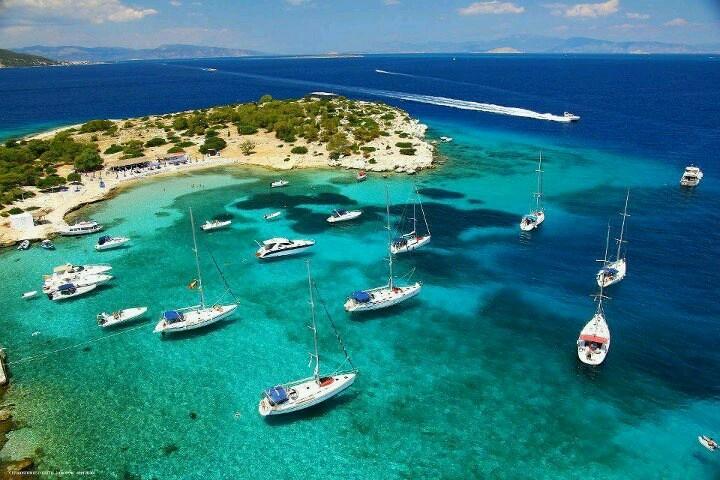 Sailing the Greek isles with friends - Aegina island