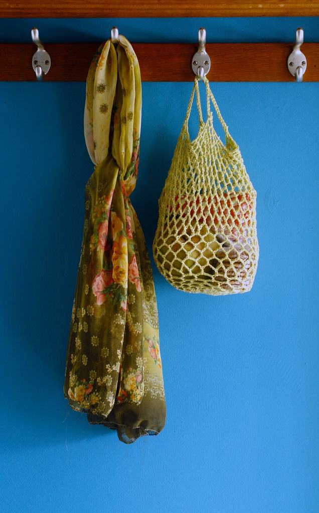 Crochet Grocery Bags : crocheted re-usable grocery bags DIY Crafts and Knits Pinterest