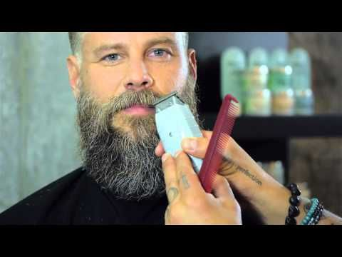 How to Trim a Beard by Daniel Alfonso featuring Roy Oraschin - YouTube