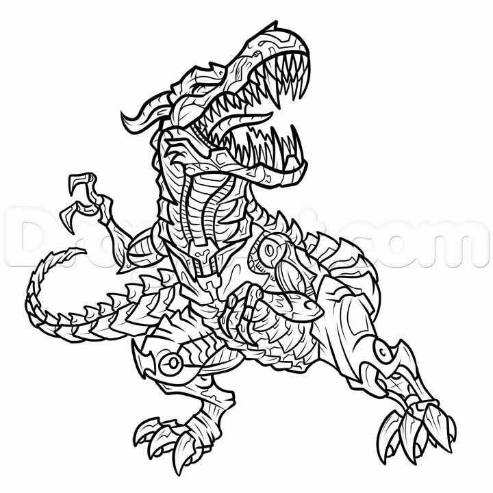 transformers coloring pages grimlock coloring - photo#6