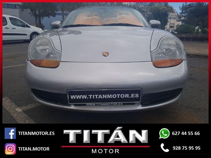 En Titán Motor tenemos para tí el PORSCHE BOXSTER . 📆Año: 1999 ⛽Combustible: Gasolina 🛣️Kilometraje: 204.200 Km 🔸Cambio: Manual 🔸Potencia: 220 CV 💶Precio: 9.900 EUR  Contáctanos 📱627 44 55 66 📞928 75 95 95