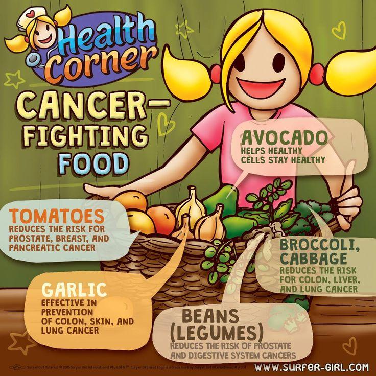 Hi Girls ^^ Let's eat more healthy food! :)  Did you know that these foods can help prevent and fight cancer? ^^ So, let's eat more of these and less junk food – which hopefully leads to no junk food at all ;) hehe ^^ Love, Summer <3 #surfergirl #positivedifference #healthtips